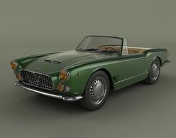 Maserati 3500GT spider Vignale 3D Model