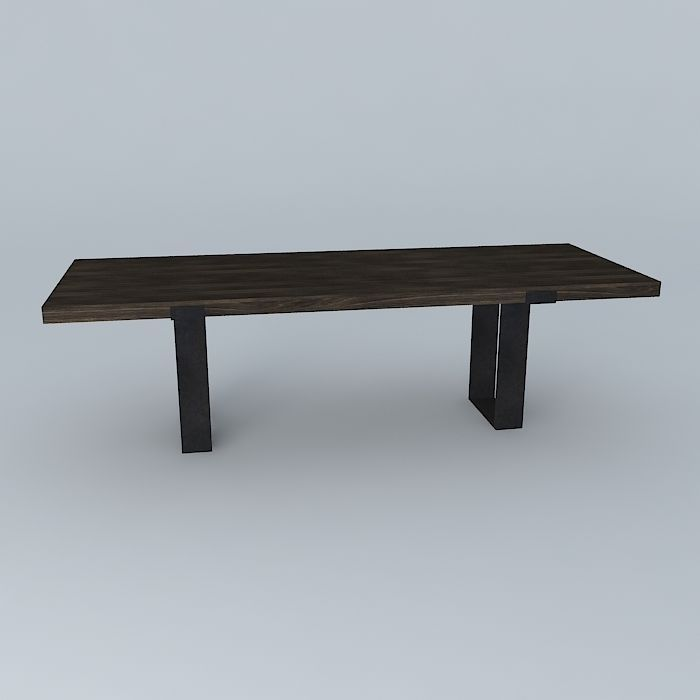 Dining table1 3d model max obj 3ds fbx stl dae for Dining table latest model