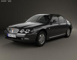 Rover 75 1998 3D model