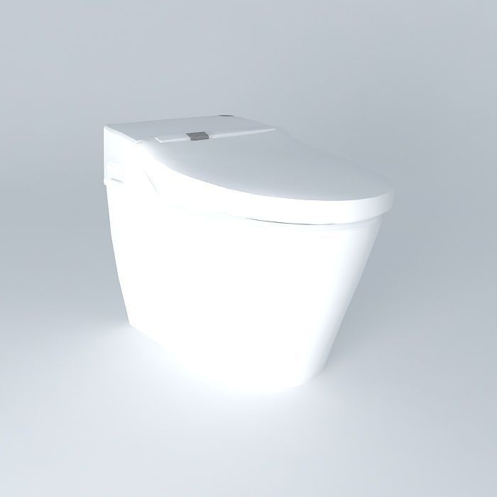 Toto tankless toilet 3D model | CGTrader