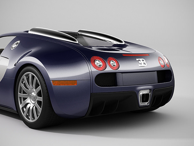 bugatti veyron 2 3d models. Black Bedroom Furniture Sets. Home Design Ideas