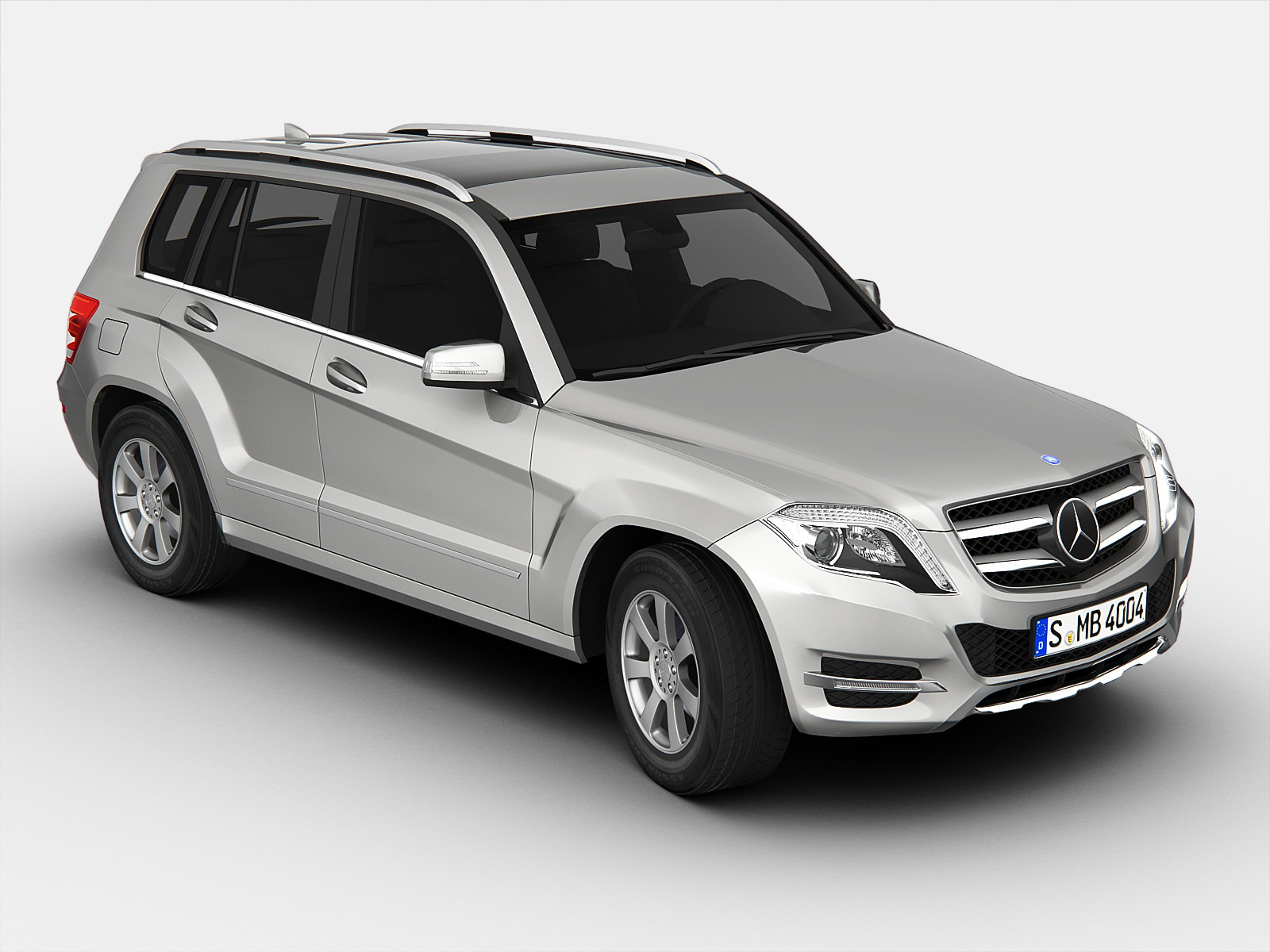 Mercedes benz glk class 2013 3d model max obj 3ds fbx for Mercedes benz suv models 2013