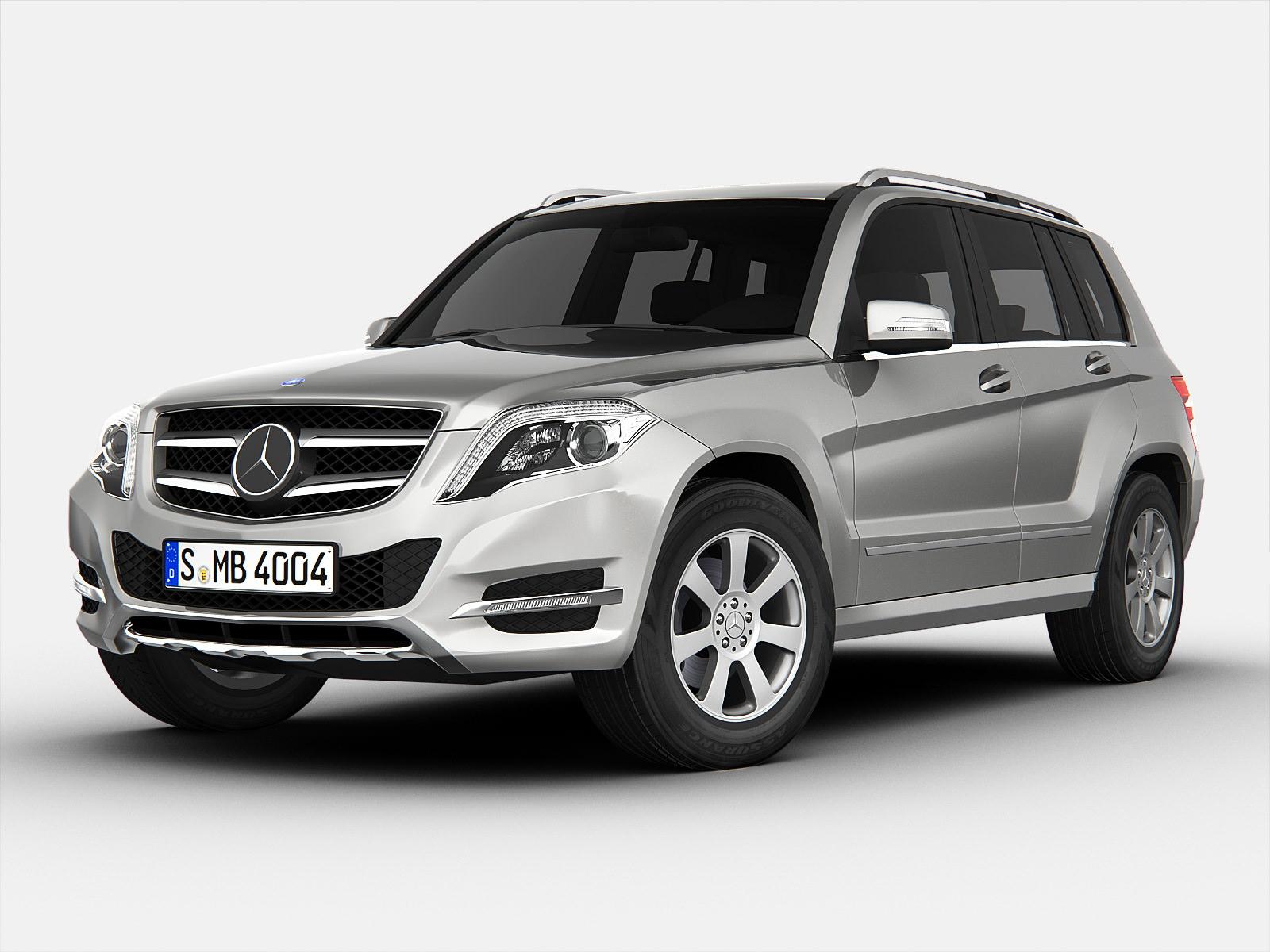 Mercedes benz glk class 2013 3d models for Mercedes benz suv models 2013