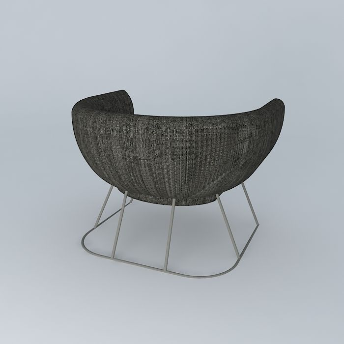 Pillow Tub Chair 3D | CGTrader