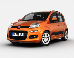 3D model Fiat Panda 2013