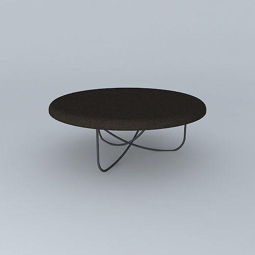 ... Clothes Pin Leg Table 3d Model Max Obj 3ds Fbx Stl Dae 3 ...