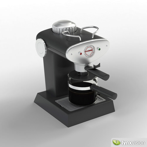 Espresso Maker 3d Model Max Obj Fbx