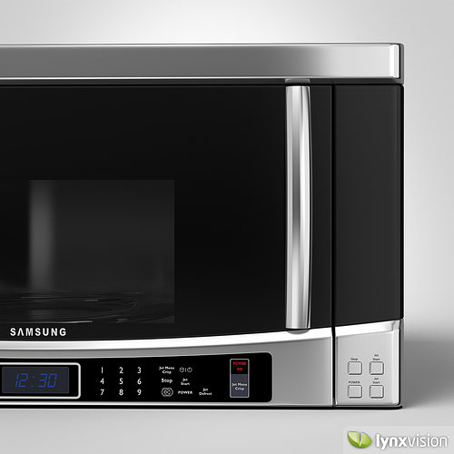 Samsung Microwave Model Max Obj Fbx Mtl 2