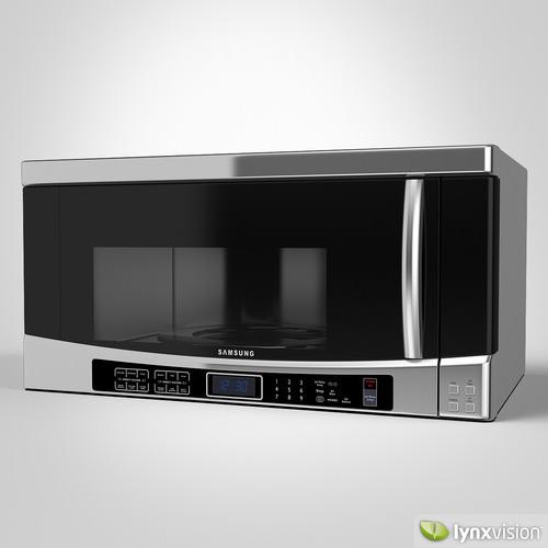 Samsung Microwave3D model