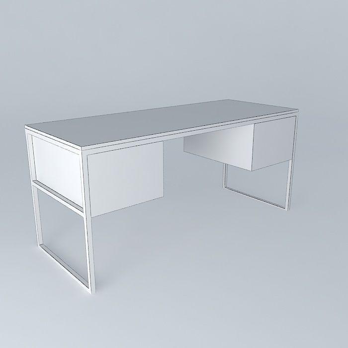 3D Office BERKLEY Maisons du Monde | CGTrader