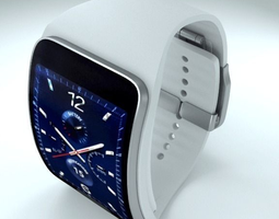 3d model samsung gear s2 and gear s