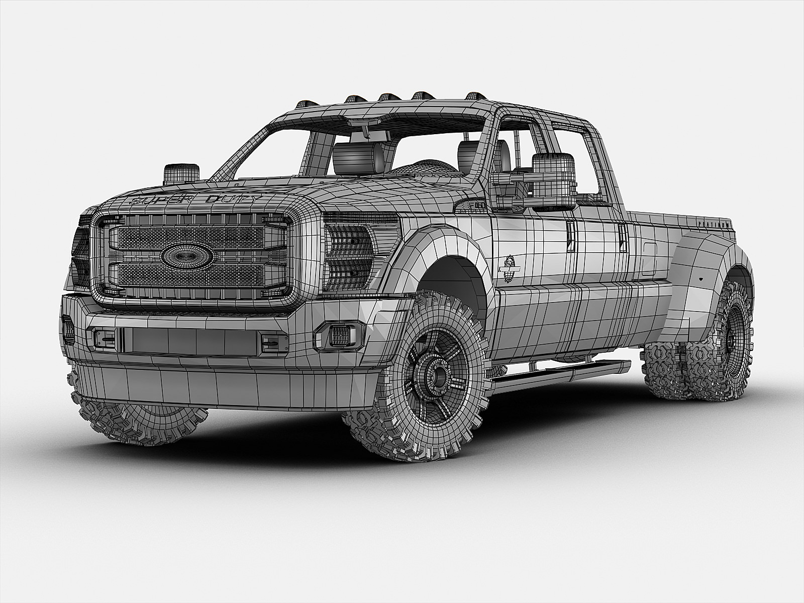 ford f250 superduty 2010 3D Model .max .3ds - CGTrader.com |New Model Super Duty