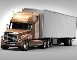 3D Freightliner Cascadia