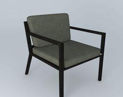 Holly Hunt Lounge Chair 3D