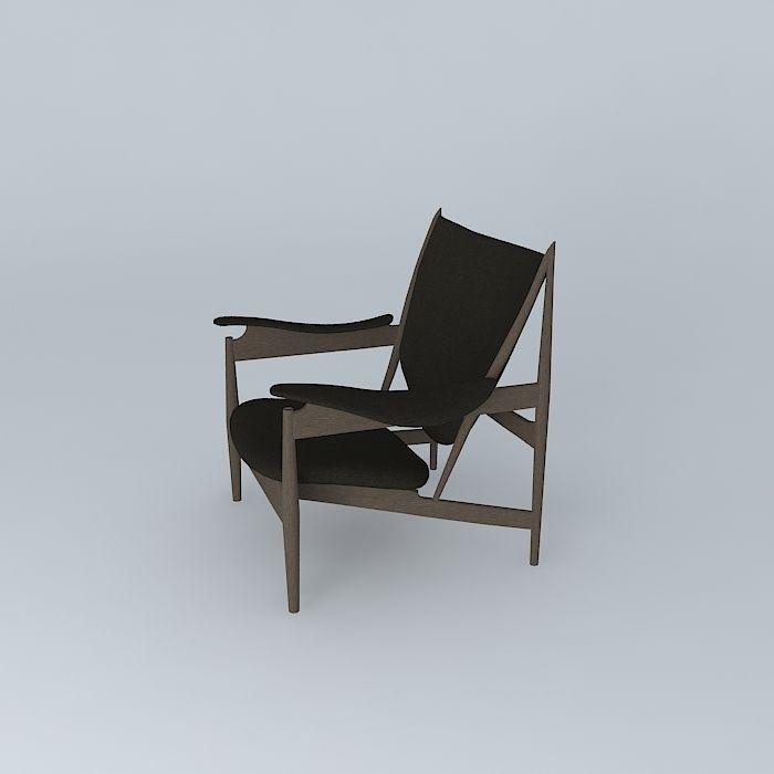 finn juhl chieftains chair 3d model max obj 3ds fbx stl dae 1 ... & Finn Juhl Chieftains Chair 3D model | CGTrader
