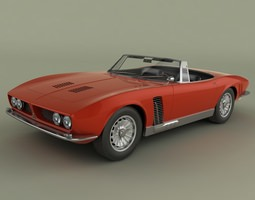 3D ISO Grifo Convertible 1964