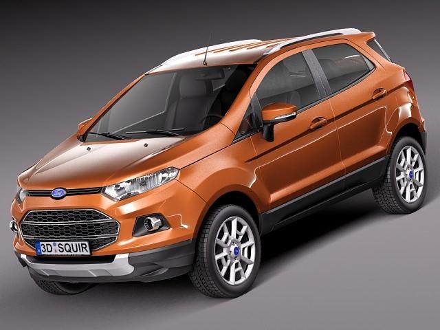 3d model Ford EcoSport 2014