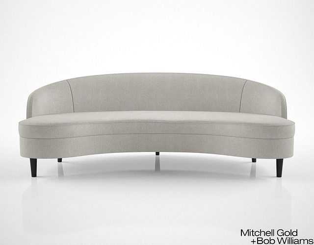 Mitchell Gold And Bob Williams Vera Sofa 3D Model
