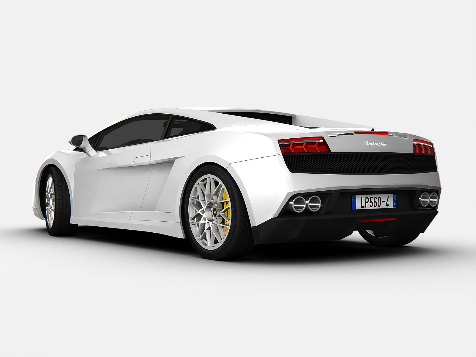 ... Lamborghini Gallardo Lp560 4 3d Model Max Obj 3ds C4d 2 ...