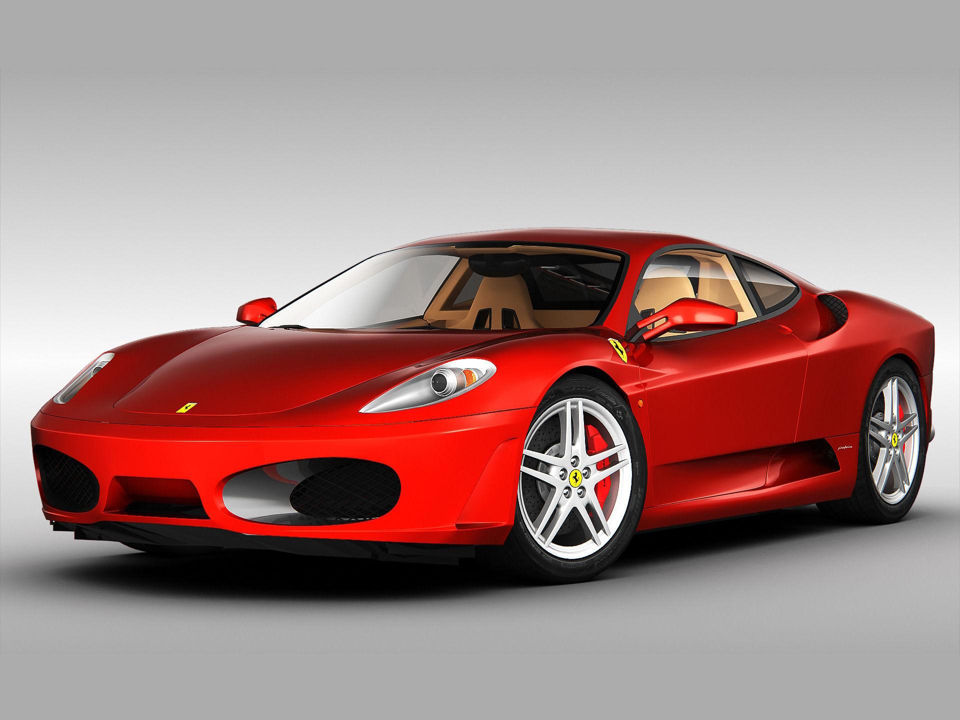 Ferrari F430 2004 - 2010 3D Model MAX OBJ 3DS C4D | CGTrader.com