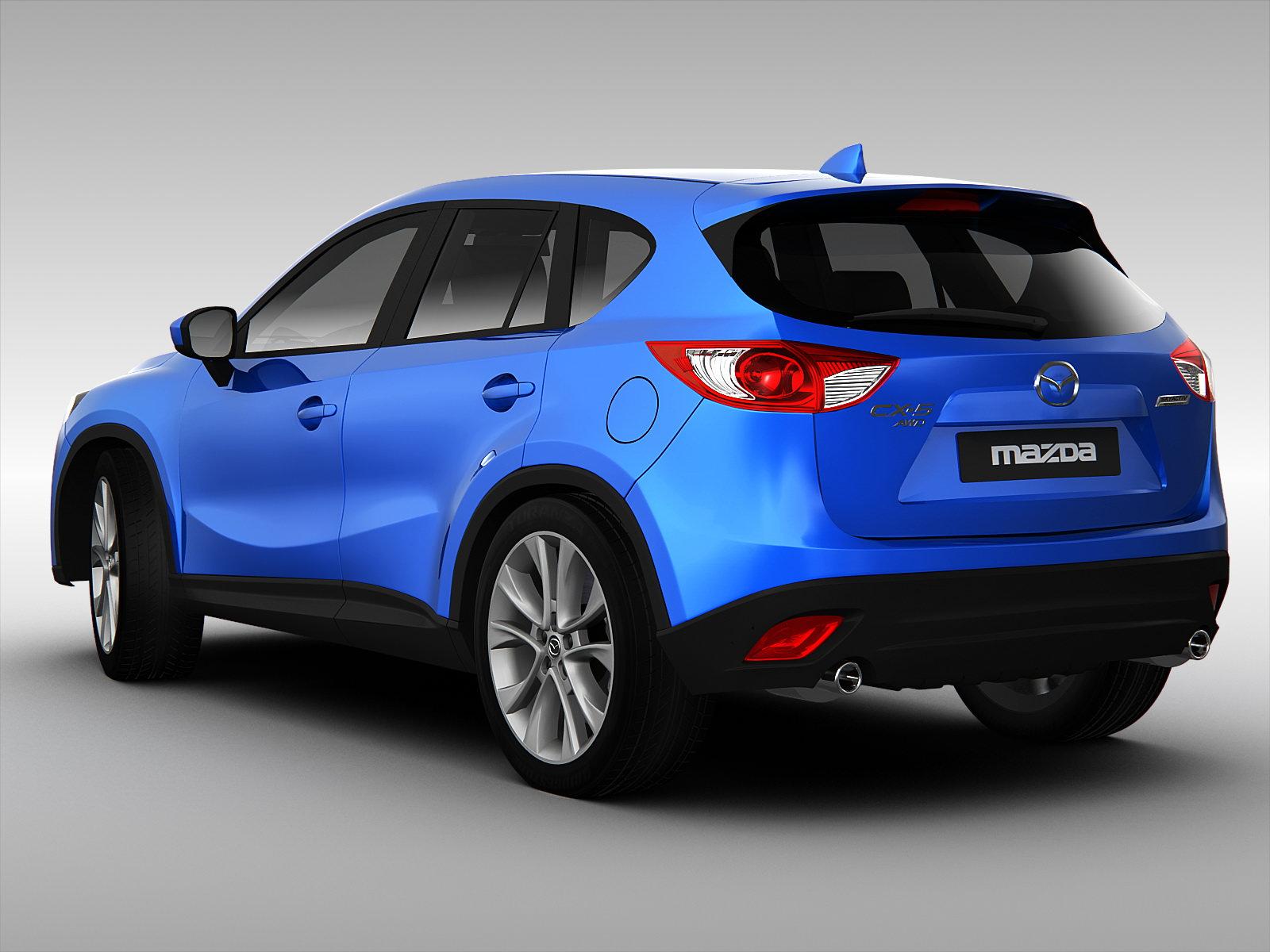 Mazda Cx5 2013 3d Models Cgtrader Com