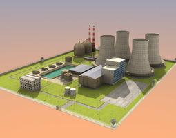 3D Nuclear Powerplant