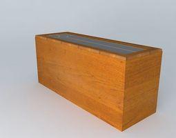 Kitchen Red Fair Cabinet 3D cabinet