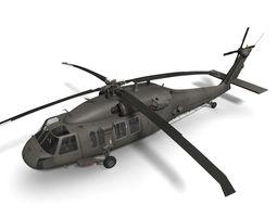 UH-60L Blackhawk 3D Model