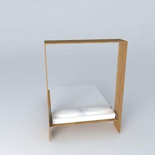 murphy bed 3d model 2