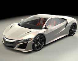 3D model Acura NSX 2015
