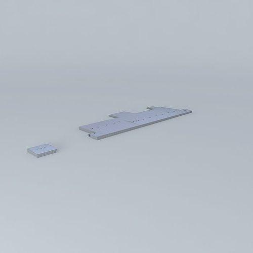 Port of brisbane warehouses free 3d model max obj 3ds fbx for Porte 3ds max