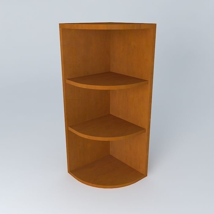 Kitchen Corner Shelf Model Max Obj Mtl S Fbx Stl Dae 1