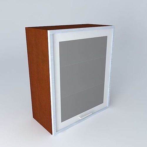 35th park avenue kitchen cabinet g 60 72 pva3 brw 3d model max obj mtl 3ds fbx stl dae 1