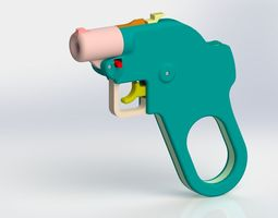 Card Counter Pistol 3D print model