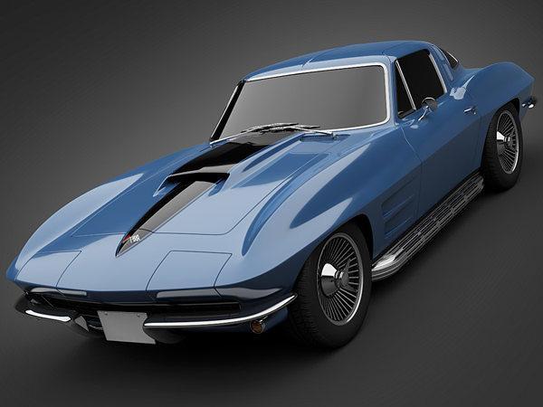 3D model 1966 Chevrolet Corvette | CGTrader
