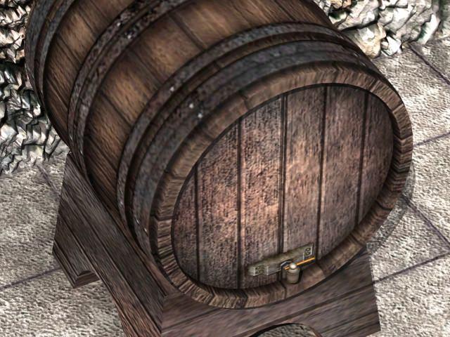 Wine barrel 3D Model .max .obj .3ds .fbx .lwo .lw .lws ...