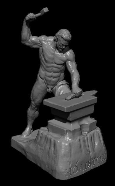 Hephaestus Greek God 3d Model 3d Printable Obj Cgtrader Com