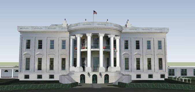 The White House3D model