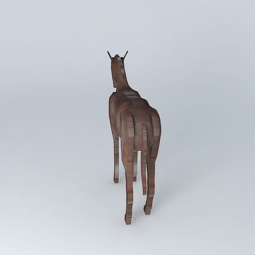 small horse statue 3d - photo #18