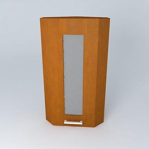 capital 34th avenue kitchen cabinet gnzu2f 30 72 luv 3d model max obj mtl 3ds fbx stl dae 1