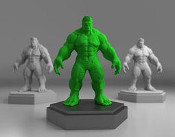 Hulk 3D print model 3D Model