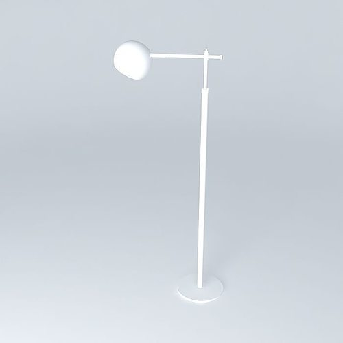 Schoolhouse Electric Miles Floor Lamp 3D | CGTrader