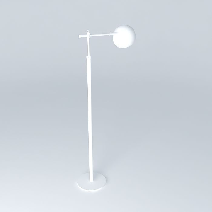 Schoolhouse electric miles floor lamp free 3d model max for Floor lamp 3ds max free model