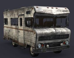 bus car 3D Model