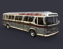 bus car 2 3D Model