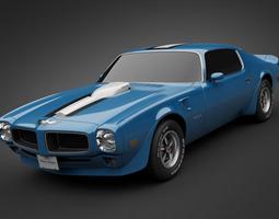 1971 Pontiac Firebird TransAm 3D Model
