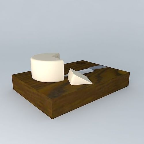 cheese 3D Models