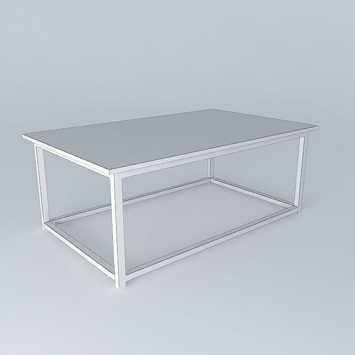 Mesa Centro Coffee Table Free 3d Model Max Obj 3ds Fbx Stl Dae