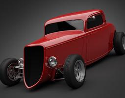 1933 Boyd Coddington Vern Luce Coupe 3D Model