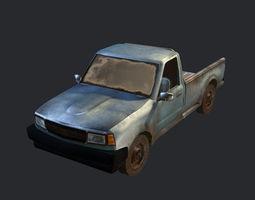 Convoy Truck car 3D Model